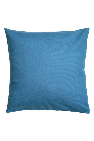 Copricuscino in tela di cotone - Blu cobalto - HOME | H&M IT