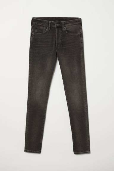 Skinny Jeans - Zwart washed out - HEREN | H&M BE
