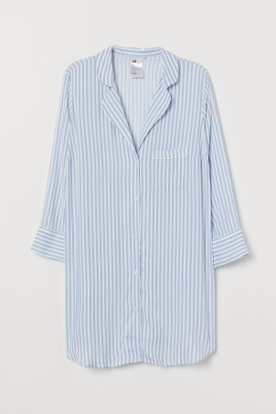 H&M+ Patterned Nightshirt