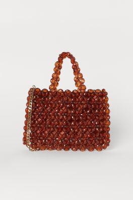 Bead-embroidered handbag 6f926cac68444