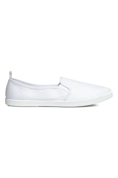 Slip-on trainers - White - Ladies | H&M