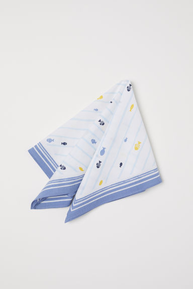 Patterned scarf - White/Patterned - Kids | H&M