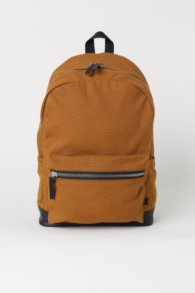 Backpack with a laptop sleeve - Brown - Men | H&M