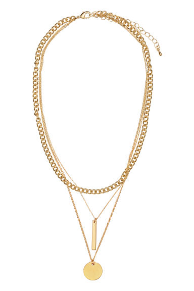 3-strand necklace - Gold-coloured - Ladies | H&M GB