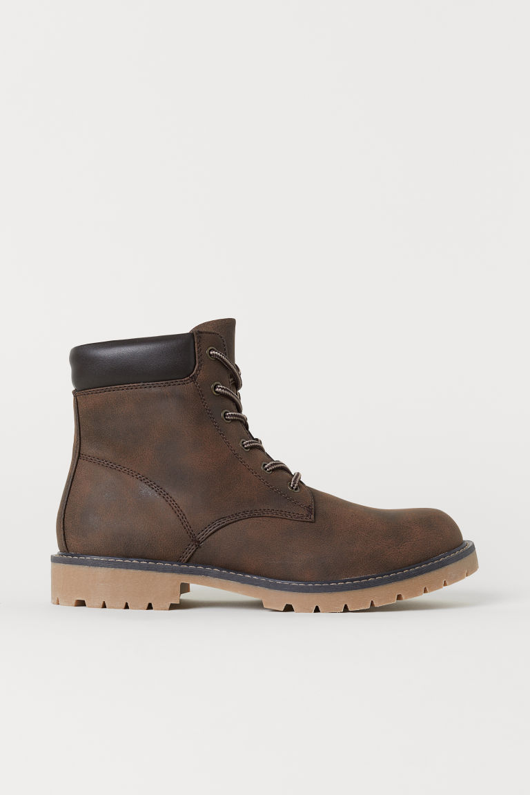 Boots - Dark brown - Men | H&M CN