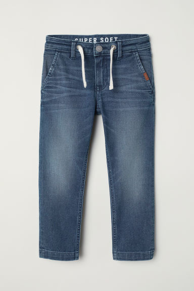 Super Soft Slim Fit Jeans - Blu denim - BAMBINO | H&M IT
