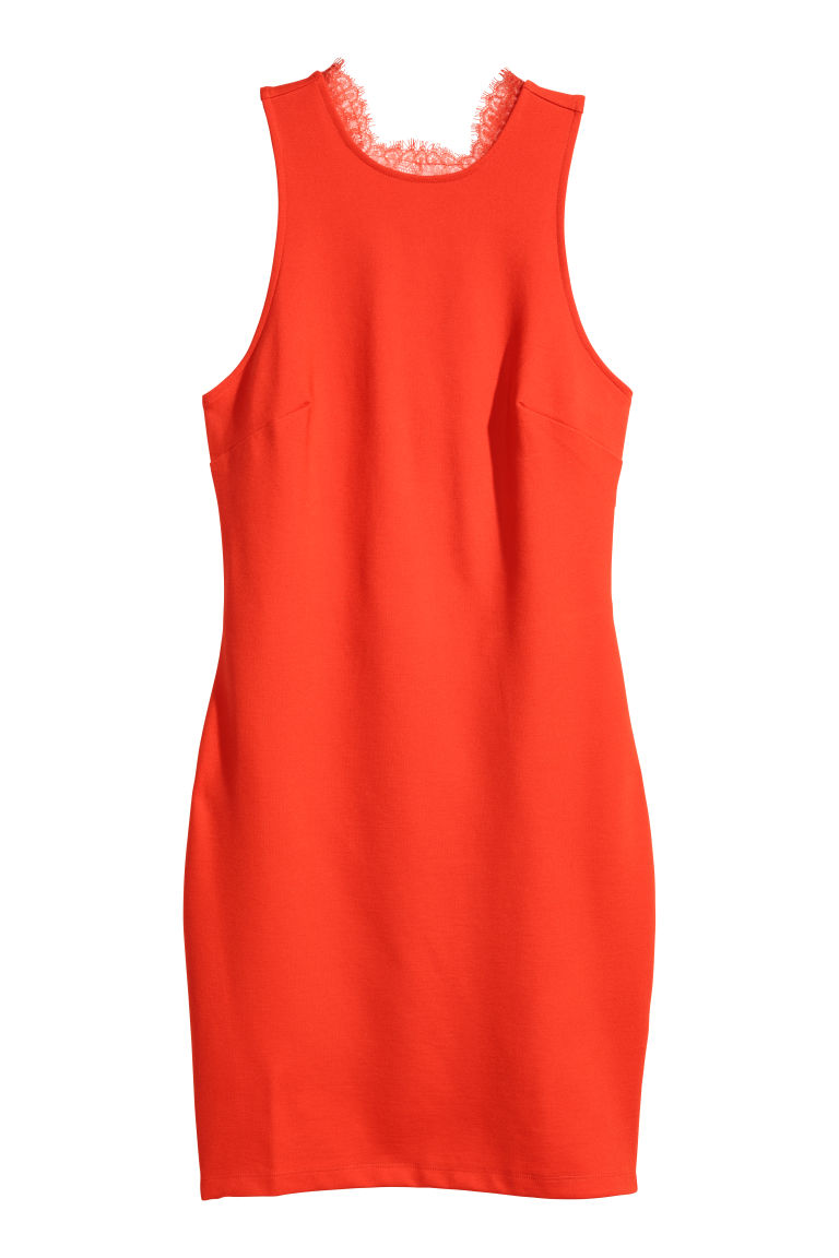 Bodycon dress - Red - Ladies | H&M