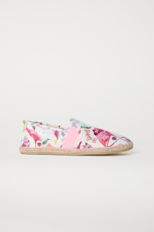 Sequined espadrilles