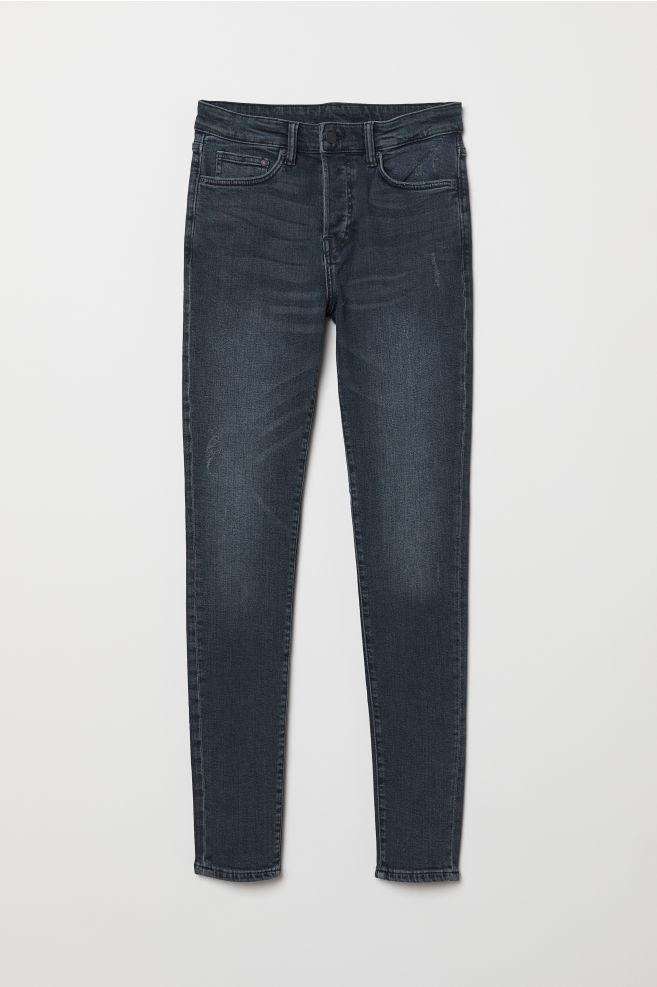 e22014494a9f Skinny Jeans - Dark blue denim - Men | H&M ...