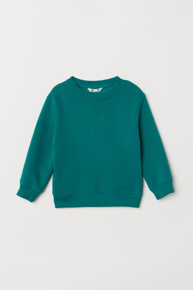 Sweatshirt - Green - Kids | H&M