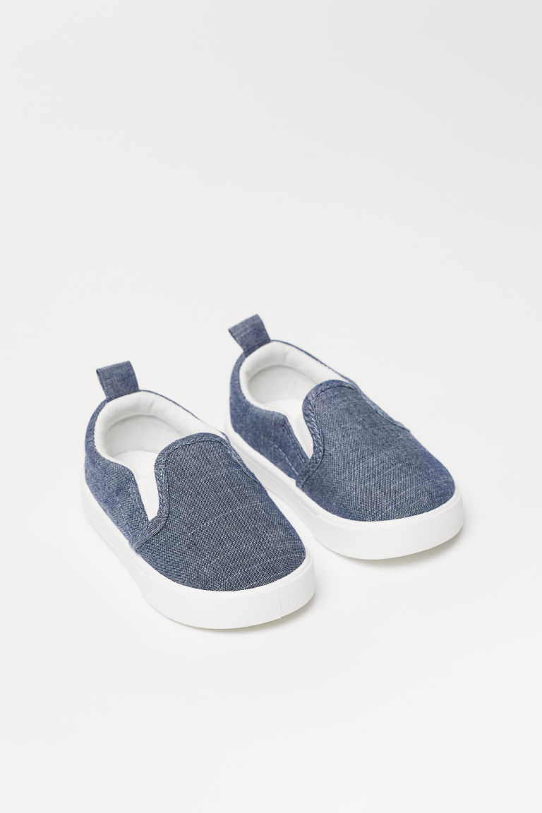 Slip-on Shoes - Dark blue - Kids | H&M US