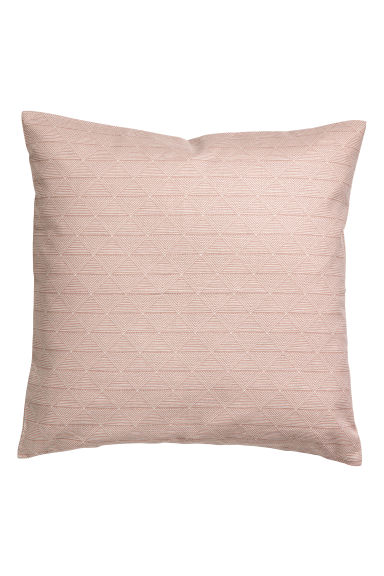 Patterned cushion cover - Old rose -  | H&M CN