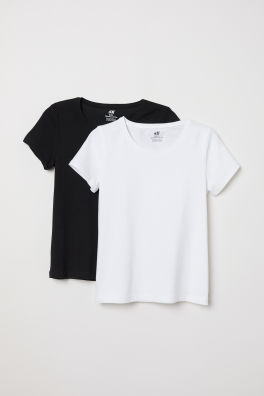 90a42fbec9a Girls Tops and T-shirts - Shop online | H&M GB