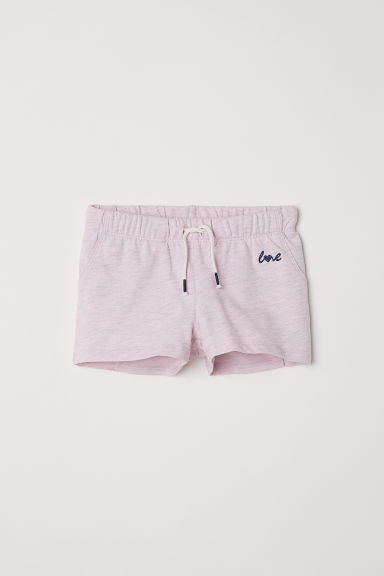 Shorts in jersey - Rosa - BAMBINO | H&M IT