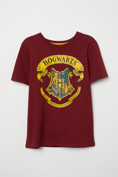T-shirt con stampa - Bordeaux/Harry Potter - BAMBINO | H&M IT