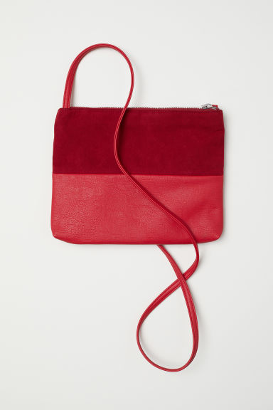 Small shoulder bag - Red/Dark red -  | H&M CN