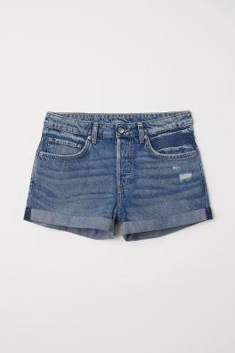 Short en jean Boyfriend f19d340c134