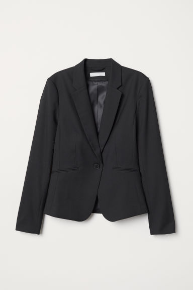 Fitted jacket - Black - Ladies | H&M IE