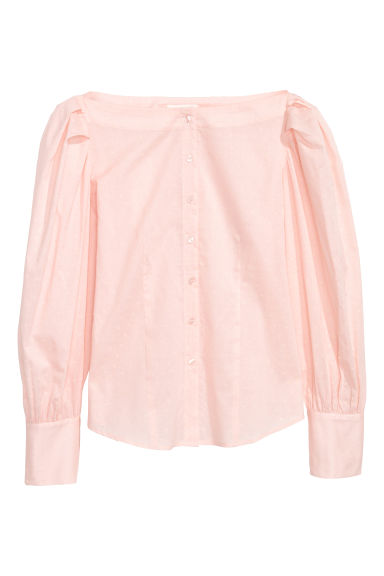 Cotton blouse - Light pink - Ladies | H&M