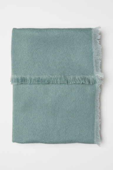 Soft blanket - Mint green - Home All | H&M CN