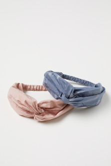 2-pack Cotton Hairbands