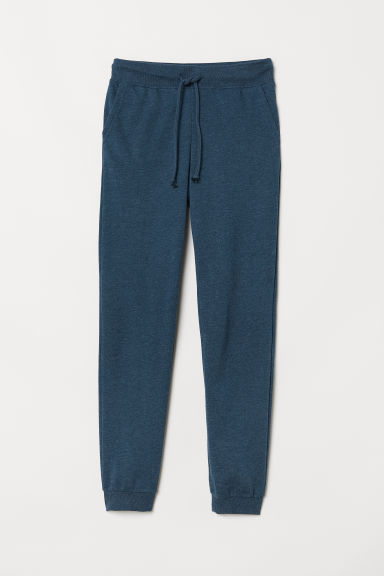 Pantaloni in felpa - Blu scuro -  | H&M IT