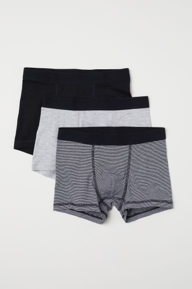 3-pack boxer shorts - Black -  | H&M