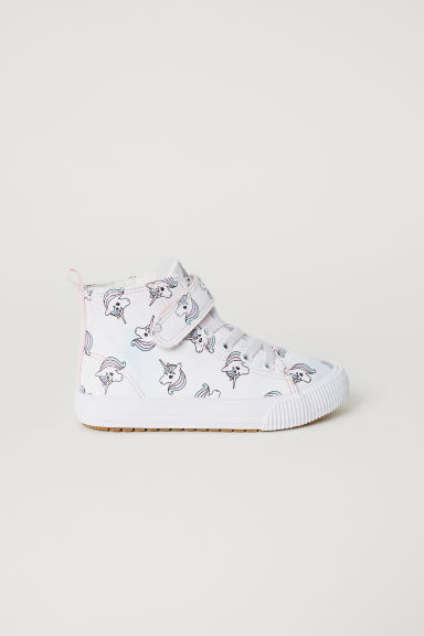 Deportivas altas con peluche - Light purple/Unicorns - NIÑOS | H&M ES