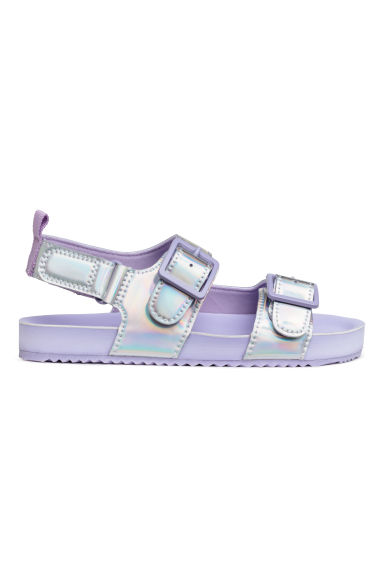 Sandals - Purple/Metallic - Kids | H&M