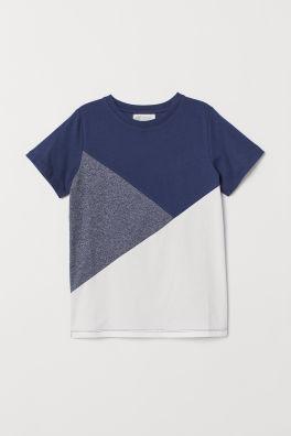 2f9c38820 Camiseta en bloques de color
