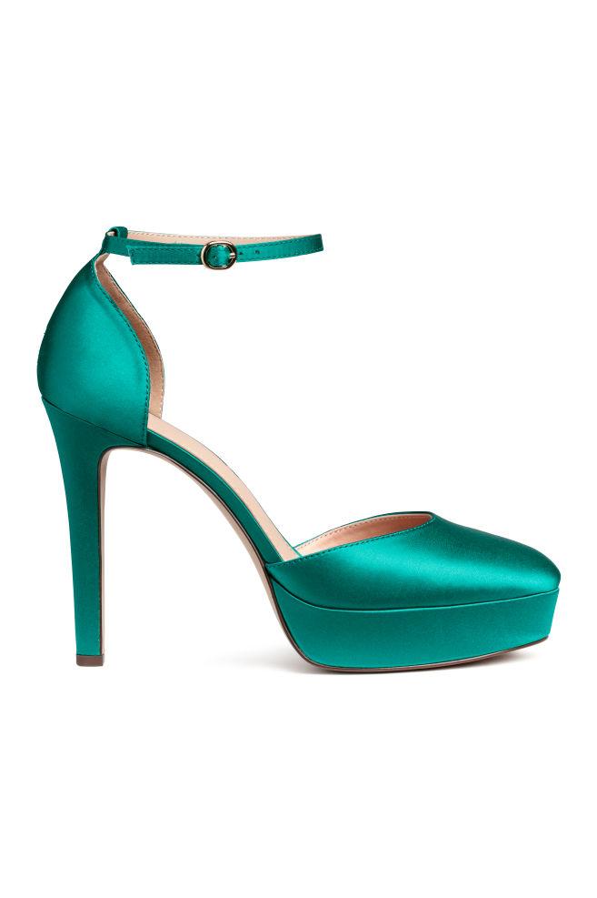 f6a311c3322e Platform sandals - Emerald green - Ladies