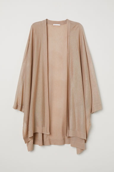 Fine-knit cardigan - Beige - Ladies | H&M