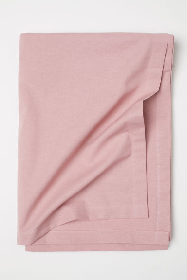 Cotton tablecloth - Old rose - Home All | H&M CN