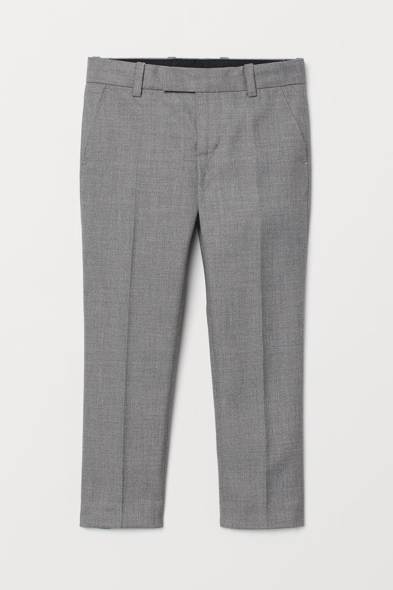 Suit Pants - Gray melange - | H&M US 1
