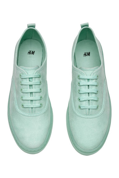 Trainers - Mint green -  | H&M