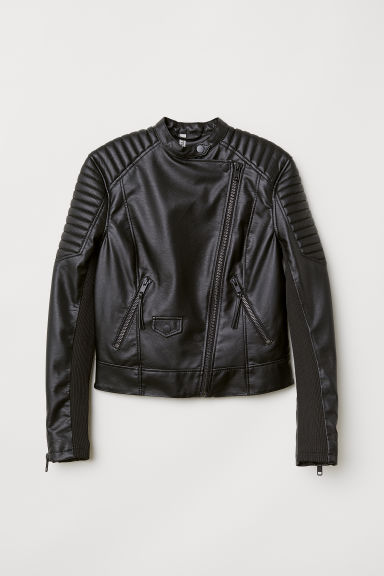 Bikerjakke - Sort -  | H&M NO