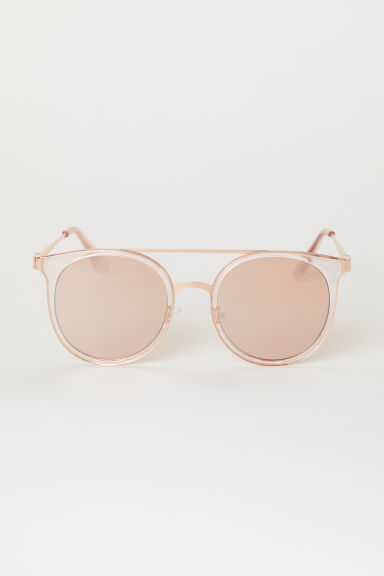 Sunglasses - Light pink/Rose gold-coloured -  | H&M CN