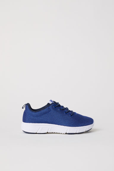 Mesh trainers - Dark blue -  | H&M