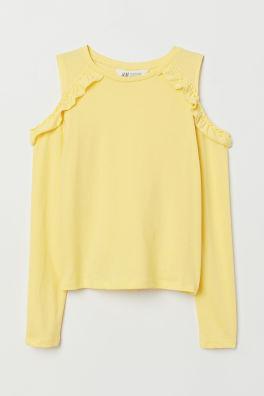 c16fa72057864 Hauts et t-shirts filles - Achetez en ligne   H M CH