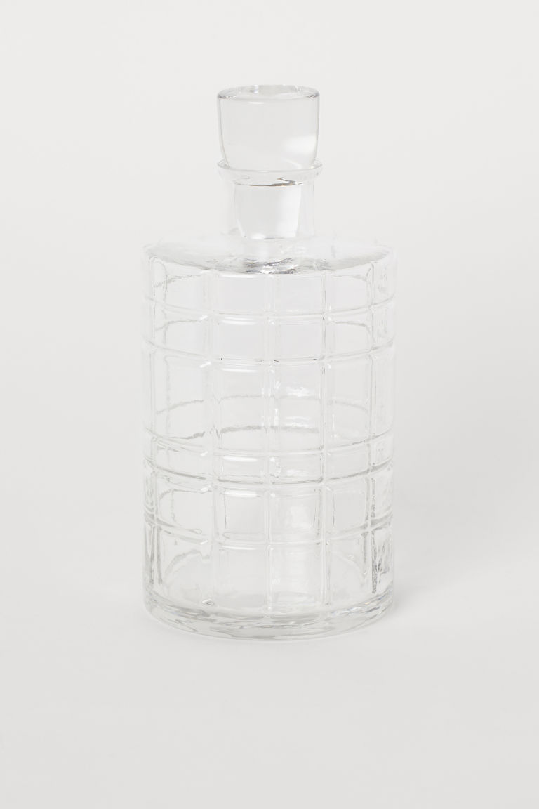 Carafe with Stopper - Clear glass - Home All | H&M CA