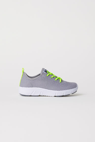 Fully-fashioned trainers - Light grey - Kids | H&M CN
