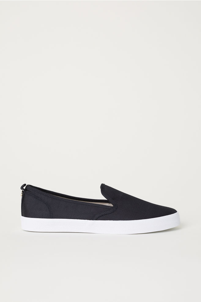 6dcb36508 Slip-on Shoes - Black - Ladies | H&M ...