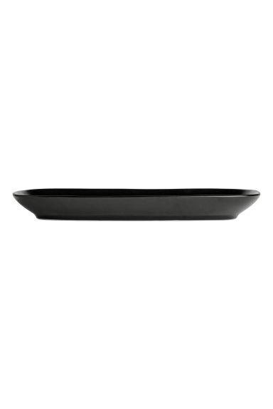Stoneware serving dish - Black - Home All | H&M CN