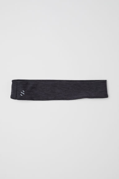 Headband - Black marl - Ladies | H&M CN