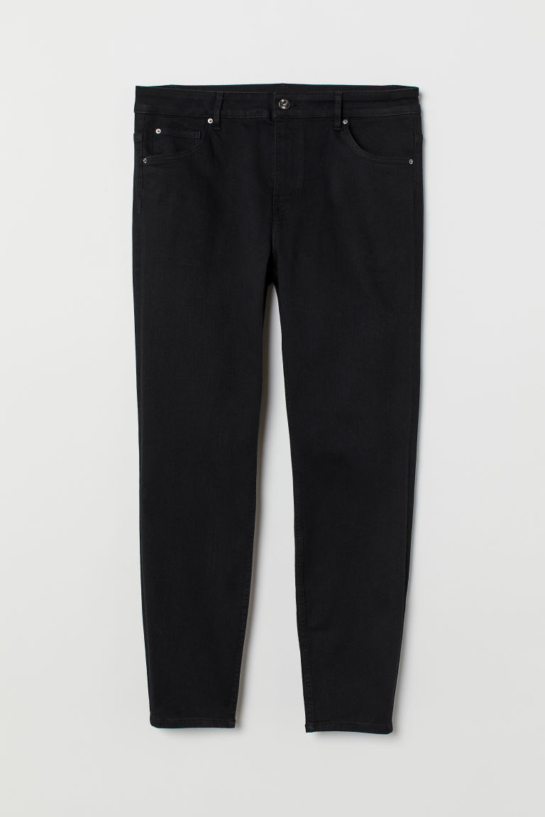 H&M+ Skinny High Jeans - Nero - DONNA | H&M IT