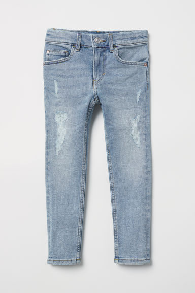 Superstretch Skinny Fit Jeans - Light denim blue - Kids | H&M CN