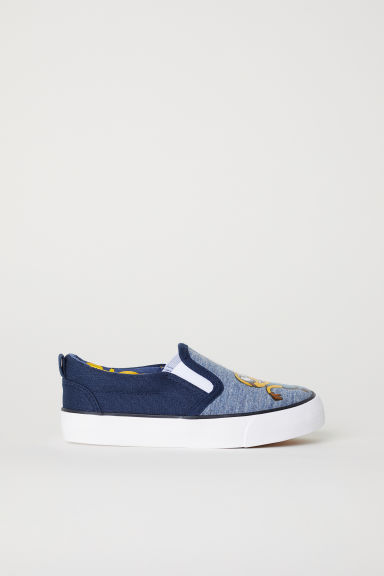 Slip-on trainers - Blue/Minions -  | H&M CN