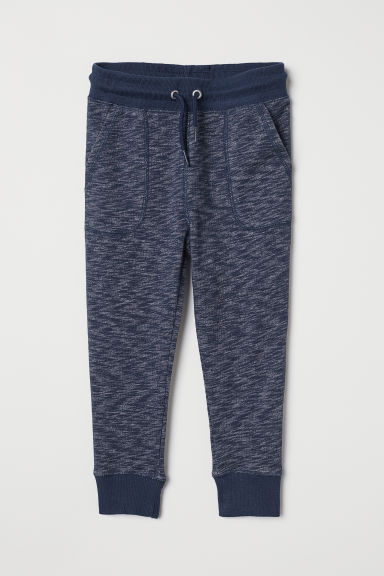 Joggers - Dark blue marl - Kids | H&M