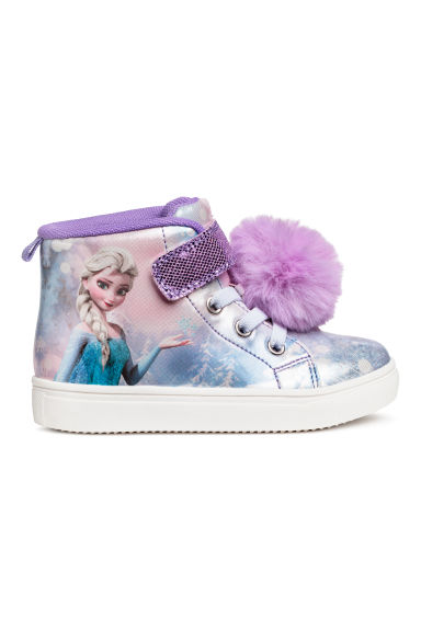 Baskets montantes - Mauve/La Reine des neiges -  | H&M BE