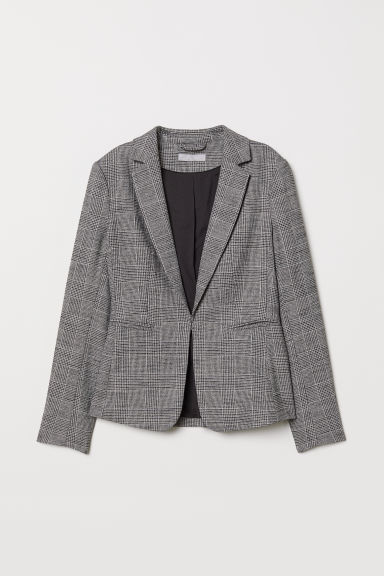 Jacket - Gray/plaid - Ladies | H&M US